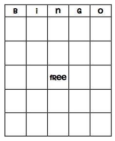 Picture 12 Fraction Bingo Math Maths Card Template