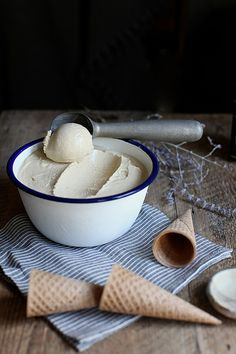Earl Grey + Lemon Zest Ice Cream for Wit & Aroma by Maggie Pate
