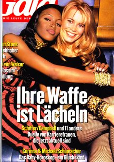 Claudia Schiffer and Naomi Campbell Fashion Magazine Cover, Fashion Cover, 90s Fashion, Fashion Models, Magazine Covers, Naomi Campbell 90s, Six Models, New York Life, 90s Nostalgia