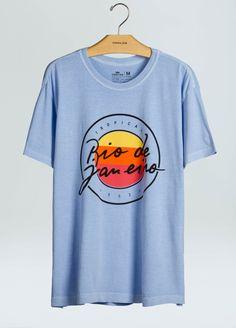 T-Shirt Stone Rio De Janeiro Vintage - Osklen Mobile