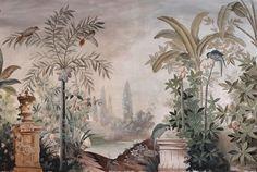 chinoiseries and painted walls - Sharon Santoni