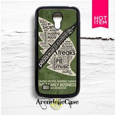 Supernatural Crowley Quotes Samsung S4 Mini Case