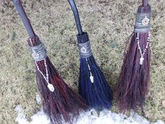 Broom Besom Wedding Broom/Handfasting Ritual by WayOfTheCauldron
