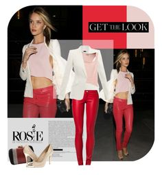"""Get the Look Rosie Huntington"" by magdafunk ❤ liked on Polyvore"