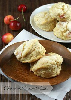 Authentic Suburban Gourmet: Cherry and Coconut Scones