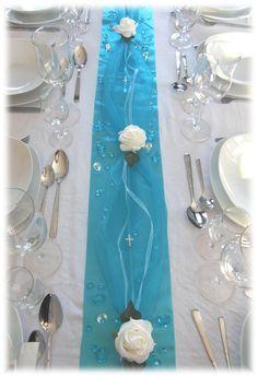 **Traumhafte Tischdekoration für Ihre Festtafel**      Ideal für Ihre Kommunion, Konfirmation, Taufe, Hochzeit, Geburtstag, Verlobung.......  und andere festliche Anlässe...