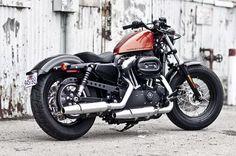 '11 Harley XL 1200N - Bobber Chopper