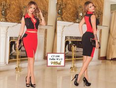 Vestido Colombianos PitBull  +Modelos en: http://www.ropadesdecolombia.com/index.php?route=product/category&path=77  #vestido #conjunto #ropa #moda #elegante #rojo #fiesta #noche #eventos #sexy #sensual
