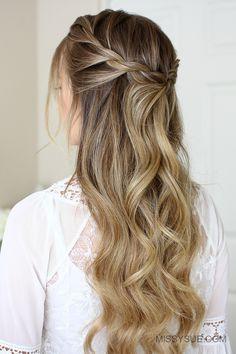 10 Easy Hairstyles For Long Hair Make New Look Hair Pinterest