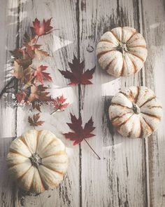 """""""Autumn Goods""""- Autumn/Fall staples.. Pumpkins and colorful maple leaves. Perfect for Fall decor. Fine Art Print. Professionally printed upon order. My photographs are professionally printed with arch"""