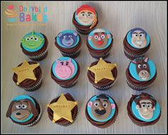 cupcak topper, cupcak war, toy stori, fun cakescupcak, cake decor
