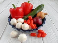 Gevulde paprika met gehakt - Homemade by Joke Cantaloupe, Bbq, Eggs, Stuffed Peppers, Fruit, Vegetables, Breakfast, Food, Winter