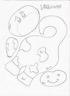 Moldes Para Artesanato em Tecido: Molde Bichinhos de Maçaneta 7/9
