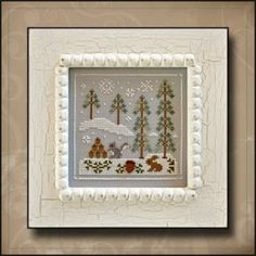 Snowy Friends is the 4th cross stitch pattern in the Frosty Forest series from Country Cottage Needleworks. Through July 2014, I am offering...