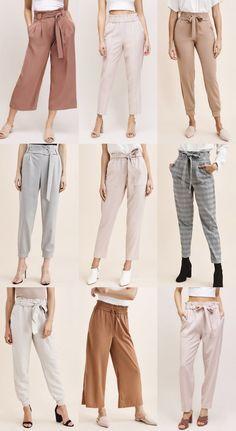 Indian Fashion Dresses, Girls Fashion Clothes, Teen Fashion Outfits, Mode Outfits, Fashion Pants, Workwear Fashion, Fashion Mode, Look Fashion, Trendy Fashion