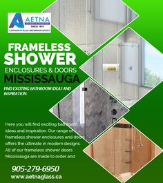 Aetna glass mirror provide service of frameless get custom glass shower doors frameless shower enclosures mississauga at discounted prices we offer customized and wide range of world class shower planetlyrics Images