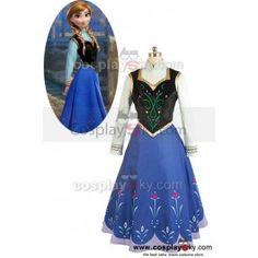 2013 Disney Film Frozen Princess Anna Cosplay Costume ---- Frozen Cosplay Costume |  CosplaySky.com
