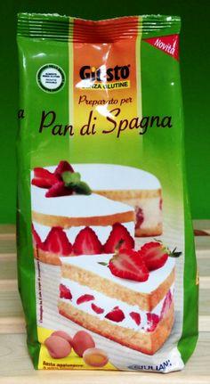 NUOVO Preparato per Pan di Spagna Senza Glutine #Giusto #Giuliani  #GlutenFree
