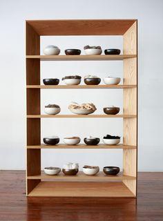 Bookshelf — Kalina Made Bookshelves In Living Room, Wood Bookshelves, Bookshelf Design, Bookcase Shelves, Storage Shelves, Diy Furniture Videos, Furniture Projects, Furniture Making, Cool Furniture