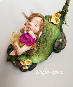 Polymer Clay Fairy, Clay Fairies, Fairy Figurines, Clay Crafts, Minis, Sassy, Mermaid, Creatures, Cartoon