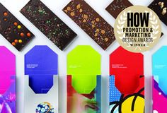 That time Ultra Creative transformed not-so-wonderful themes into alluring graphics—and chocolate. Enter your own work into the 2017 HOW Promotion & Marketing Design Awards by March 13, 2017 to get the Early-Bird savings! #design #promotion #marketing