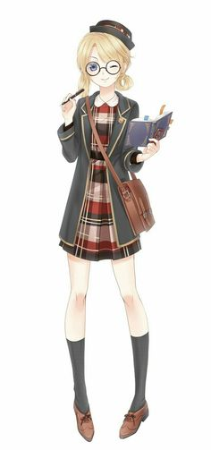 Kira, she is a natural born writer and loves to write story. When she was little her parents just left her at makto for unknown reason.