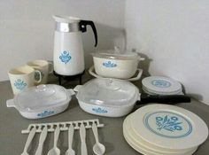 Had this set. Loved the coffee pot.Late 1960s