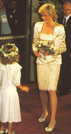 1988-01-26 Diana and Charles attend the Royal Bicentennial Concert at the Sydney Entertainment Centre