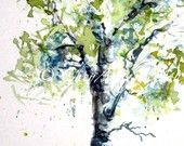 Etsy Enchanted -- Under 50, under 25  TREASURY that my little watercolour aspen tree is in