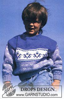 DROPS Nordisk trøje i Alaska med lus og bort ~ DROPS Design