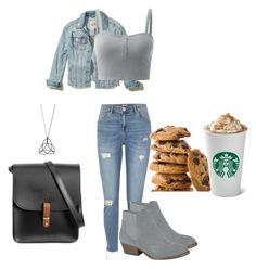 """""""Untitled #340"""" by xolafkax on Polyvore featuring Hollister Co., River Island and N'Damus"""