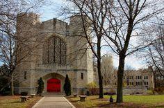 Chapel at St. John's Military Academy, Delafield, Wisconsin