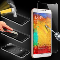Premium Explosion Proof Tempered Glass Film Screen Protector for Samsung Galaxy Note 3 Screen Protective Film Transparent Screen, Galaxy Note 3, Glass Film, Glass Material, Samsung Galaxy S5, Tempered Glass Screen Protector, Galaxies, Cell Phone Accessories, Films