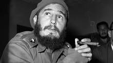 Former Cuban leader Fidel Castro has died at age his brother Raul Castro announced in a televised statement. Former Cuban leader Fidel Castro has died at age his brother Raul Castro announced in a televised statement. Fidel Castro Dead, Cuba Fidel Castro, Cuban Army, Cuban Leader, Jean Paul Sartre, Pope John, Revolutionaries, Brother, Latin America