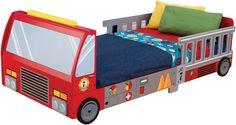 KidKraft fire truck toddler bed. Top 10 Best Toddler Beds In 2015 Reviews