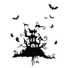 Ber ideen zu halloween fenster auf pinterest - Halloween fensterbilder ...