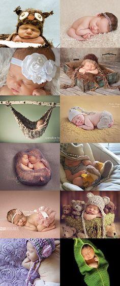 Dying of cuteness - Baby photo props treasury by Felicia Stevenson on Etsy--Pinned with TreasuryPin.com
