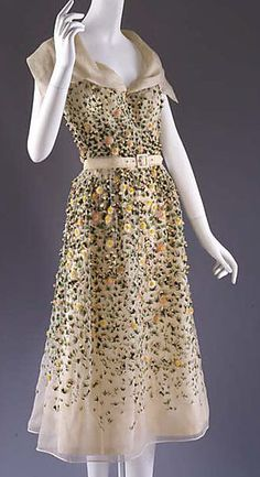 """Vilmiron,"" House of Dior, 1952 