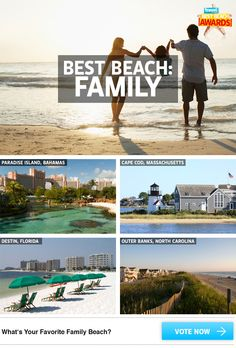 What's your favorite family beach? Vote now in our Best Beach Awards!    #Travel #DanCamacho