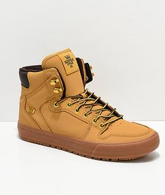 034be3bc2ac Supra Vaider Cold Weather Wheat & Gum Boots