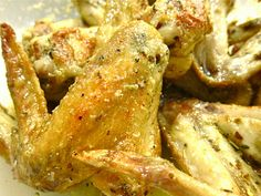 Wicked Delicious: Parmesan Garlic Chicken Wings (Baked!)