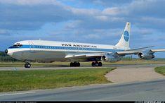 "Pan American World Airways Boeing 707-321B N894PA ""Jet Clipper Polynesia"" at Stockholm-Arlanda, September 1970. Departing as PA45 to Copenhagen. (Photo: Kjell Nilsson)"