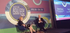 """Relaxing in #SanDiego and listening to Deborah Quazzo & @snhuprez chat at #ASUGSVSummit - love this """"work"""" - Twitter Search"""