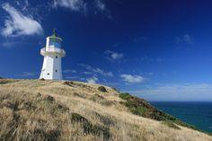 Old Pencarrow Lighthouse - Parangarahu Lakes area