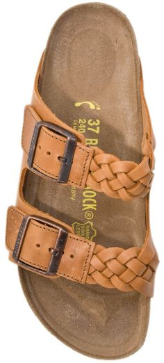 If I didn't already love Birkenstocks enough... Birkenstock Arizona Woven Women Sandals