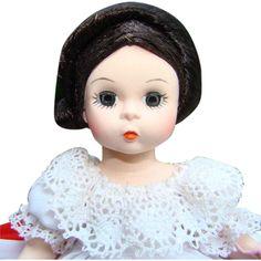 1980s Madame Alexander Russia Russian International Doll 8 Inch HP SL MIB 571