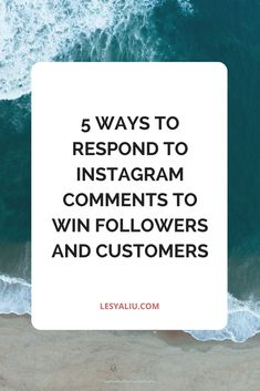 Let me start this post by asking you a question: do you respond to comments on your Instagram posts? It seems that a lot of accounts, especially business account, ignore the comments under their own posts. I get it. The rise of Instagram bots and spam accounts makes all of us question the...