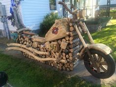 Holz stapeln like a boss Stacking wood like a boss