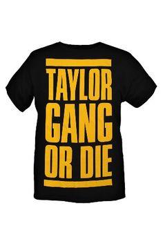 4c87f520d3196  AmberTaylor Wiz Khalifa Taylor Gang Or Die Slim-Fit T-Shirt  20.50 Taylor