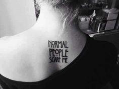 Imagen de tattoo, american horror story, and ahs